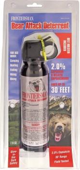 Sabre Frontiersman Bear Spray Ormd self defense BRK-SA95459
