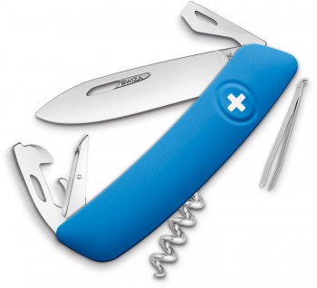 Swiza D03 Swiss Pocket Knife Blue BRK-SZA3030