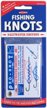Pro-Knot Saltwater Fishing Knot Cards BRK-PKFS200