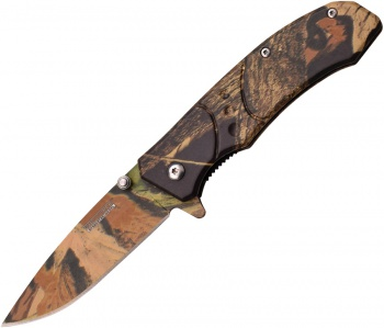 Tac Force Linerlock A/o Camo BRK-TF907BC