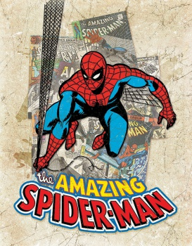 Tin Signs Spider Man Cover Splash BRK-TSN2210