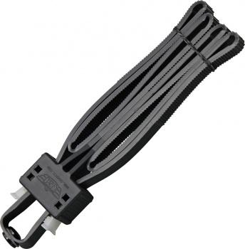 Uzi Disposable Flex Cuffs Black knives BRK-UZIFLXCB