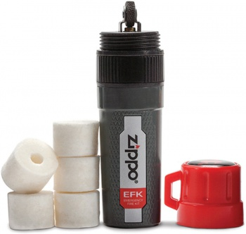 Zippo Emergency Fire Kit lights BRK-ZO30072