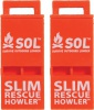 Adventure Medical Slim Rescue Howler Whistle - BRK-AD0010