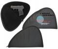Soft Black Pistol Handgun Case with optional embroidery