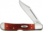 Case Cutlery Mini Copperlock Dark Red - BRK-CA06996