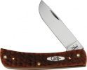 Case Cutlery Sod Buster Jr Chestnut Jigged - BRK-CA07014