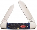 Case Cutlery Canoe Navy Blue Bone - BRK-CA07309
