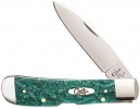Case Cutlery Tribal Lock Green Sparkle - BRK-CA32585