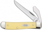 Case Cutlery Mini Trapper Yellow Synthetic - BRK-CA80033