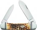 Case Cutlery Canoe Burnt Amber - BRK-CA80258