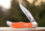 Case Cutlery Folding Hunter Orange - BRK-CA80501