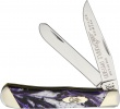 Case Cutlery Trapper Purple Passion - BRK-CAS9254PP