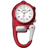 Dakota Mini Clip Microlight Watch Red - BRK-DK3879