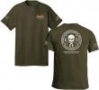ESEE Training T Shirt M Green - BRK-ESTSGRMED