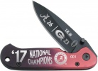 Frost Cutlery Alabama 17 National Champs - BRK-FAL17PU818