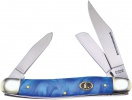 Frost Cutlery Stockman Blue Resin - BRK-FECS066BBY
