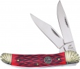 Frost Cutlery Folding Hunter Red Bone - BRK-FOC556RJB
