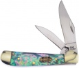 Frost Cutlery Locking Copperhead Abalone - BRK-FSW104AB
