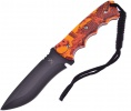 Frost Cutlery Fixed Blade Orange Camo - BRK-FTX021OR