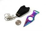 MTech Neck Knife Rainbow - BRK-MT2027RB