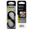 Nite Ize S-Biner SlideLock No4 Black - BRK-N02671