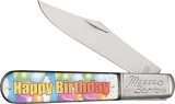 Novelty Cutlery Happy Birthday Barlow - NV261