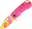 Rough Ryder Pink Tie Dyed Linerlock - BRK-RR1555