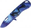 Rough Ryder Tie Dye Linerlock Blue A/O - BRK-RR1914