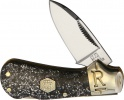 Rough Ryder Cub Lockback Silver Sparkle - BRK-RR2011