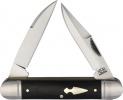 Rough Ryder Reserve Hedgehog D2 Black Micarta - BRK-RRR005