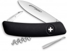 Swiza D01 Swiss Pocket Knife Black - BRK-SZA1010