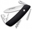 Swiza D03 Swiss Pocket Knife Black - BRK-SZA3010
