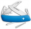Swiza D06 Swiss Pocket Knife Blue - BRK-SZA601030