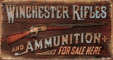 Tin Signs Winchester Rifles & Ammo - BRK-TSN1862