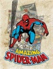 Tin Signs Spider Man Cover Splash - BRK-TSN2210