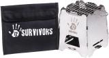 12 Survivors Off-Grid Survival Stove - BRK-TWS74000