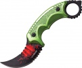 Z-Hunter Karambit Fixed Blade - BRK-ZB094GN