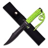 Z-Hunter Fixed Blade Green Cord - BRK-ZB103
