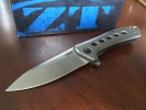 Zero Tolerance Rexford Framelock Titanium - BRK-ZT0801TI