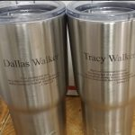 RTIC Cups with engraved bible verses