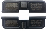 Double Sided Declaration of Independence AR-15 Laser Engraved Ejection Port Dust Cover
