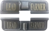 Double Sided Lead Farmer AR-15 Laser Engraved Ejection Port Dust Cover