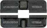 Double Sided Afghanistan Veteran AR-15 Laser Engraved Ejection Port Dust Cover