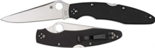 Police Model 3 KnifeC07GP3G-10 handle4 3/8 Clip Blade