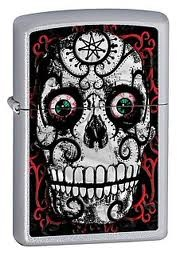 Zippo Day Of The Dead Skull lighters 24883