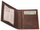 Zippo ID WALLET CASE BROWN LEATHER - 122212