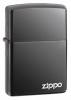 Zippo Black Ice with Zippo logo lighter (model 150L)