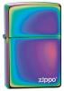 Zippo Spectrum Zippo Logo Lighter (model 151ZL)