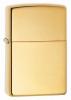 Zippo Armor high polish brass lighter (model 169)